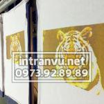 Hình in Tram con hổ đẹp