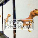 Hình in Tram con khủng long