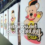 Hình in Teddy Bean
