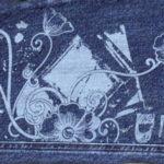 Kỹ thuật in lụa trên vải jean