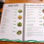 Thiết kế menu quán ăn những điểm cần lưu ý