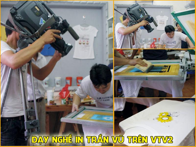Dạy nghề in Trần Vũ trên VTV2