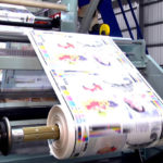 máy in offset trên giấy