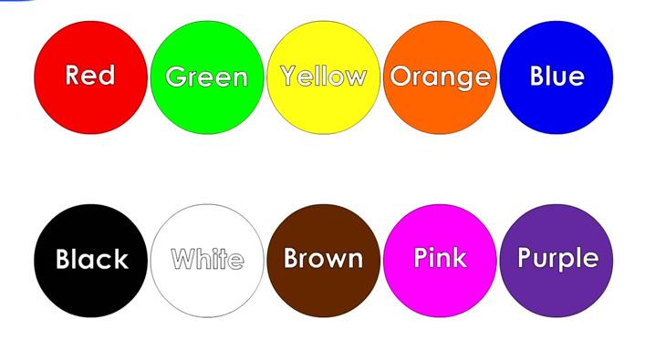 ý nghĩa màu sắc trong in ấn